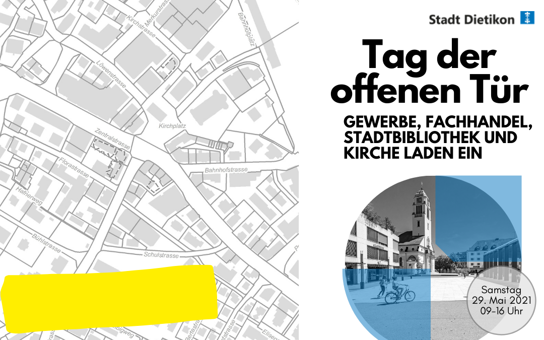 29. Mai – Tag der offenen Tür Stadt Dietikon