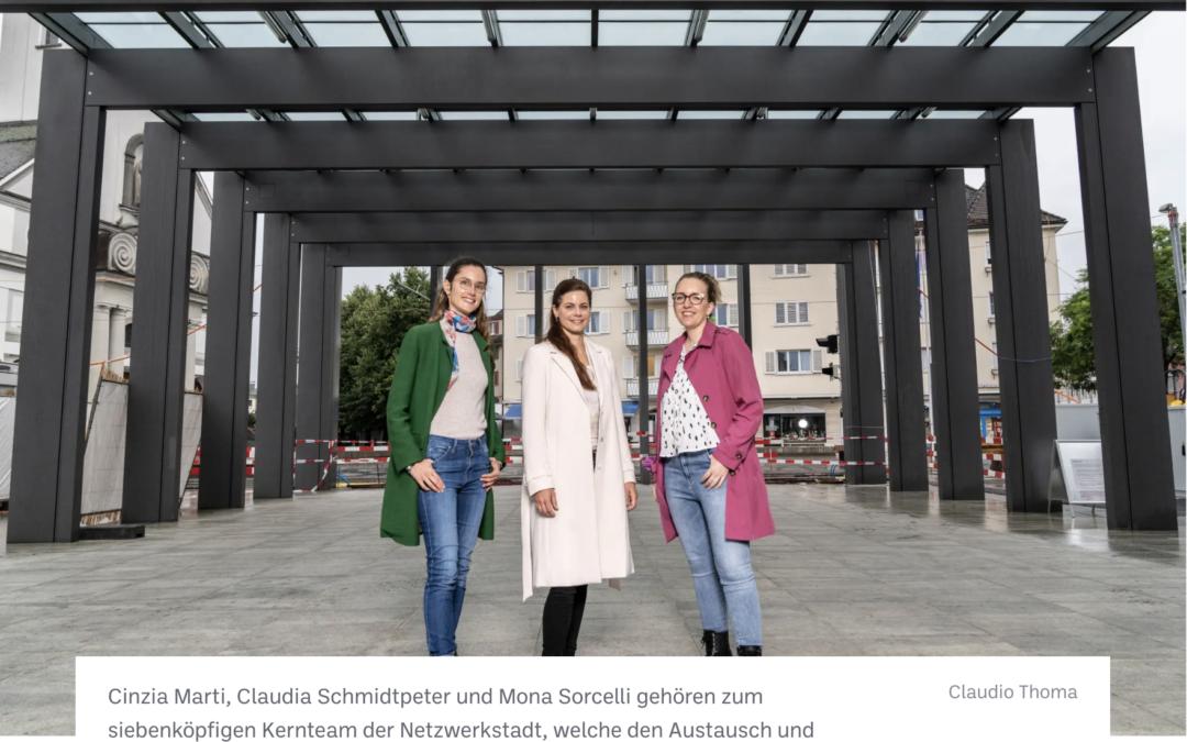 Zeitungsartikel: Die Veränderung der Stadt aktiv mitgestalten (Abo)
